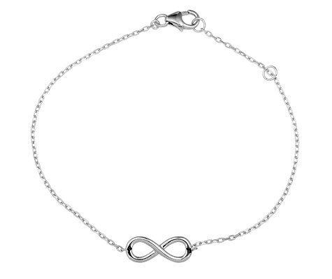 Montebello Armband Sulawesi - Dames - 925 Zilver - Infinity - 18 cm-0