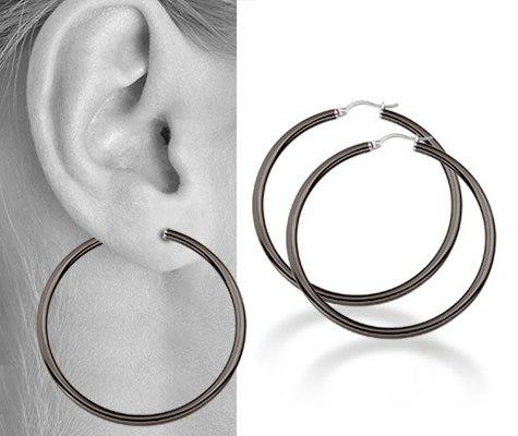 Bielaar, edelstalen oorbellen - Montebello juwelen-0