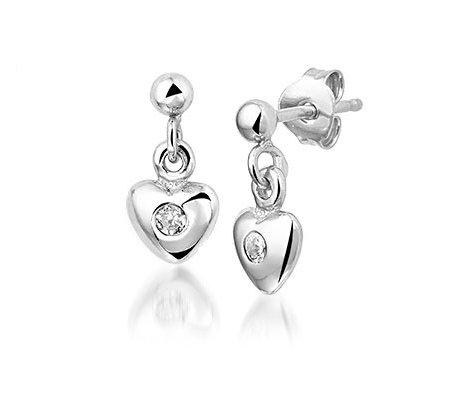 Sampion , zilveren oorbellen - Montebello Kids Juwelen-0