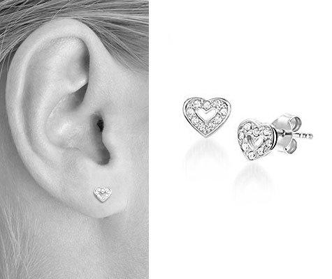 Santana, zilveren oorbellen - Montebello Kids Juwelen-0