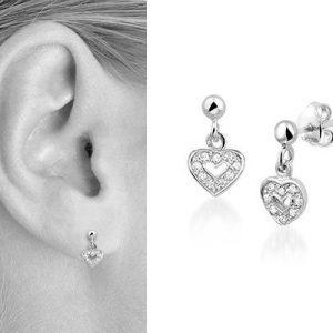 Scarlet, zilveren oorbellen - Montebello Kids Juwelen-0