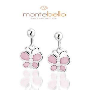 Sterappel, zilveren oorbellen - Montebello Kids Juwelen-0