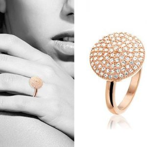 Aristida, edelstalen ring - New Bling-0