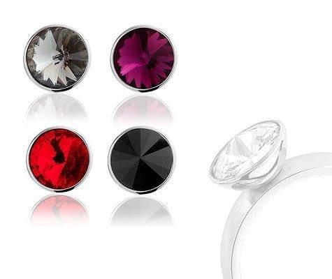 Aster, opzet steen voor ring - montebello sieraden-0