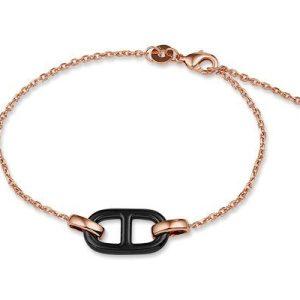 Montebello Armband Cedrus - Dames - Zilver Verguld - Keramiek - 10mm - 18cm-0