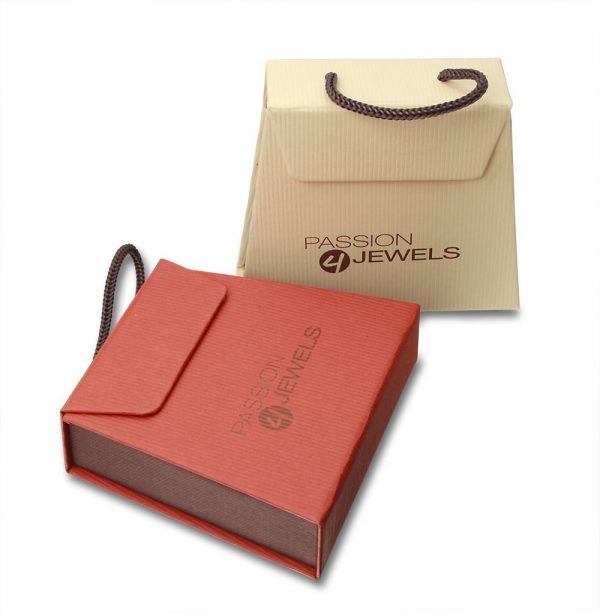 Montebello Ketting Campanula - Dames - 925 Zilver Gerh.- Hart - 19x11mm - 45cm-8705
