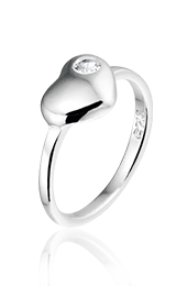 Tender Love ring, zilveren ring - amanto kinderjuwelen-5111