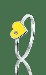 Queeny ring, zilveren ring - amanto kinderjuwelen-5142