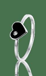 Queeny ring, zilveren ring - amanto kinderjuwelen-5143