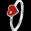 Queeny ring, zilveren ring - amanto kinderjuwelen-5144