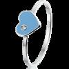 Queeny ring, zilveren ring - amanto kinderjuwelen-0