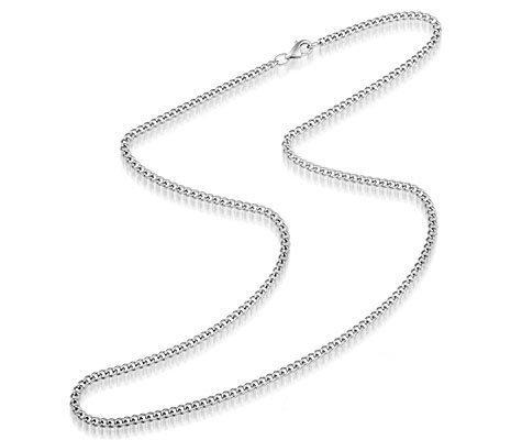 Steely Wimpy, edelstalen ketting - Montebello juwelen-0