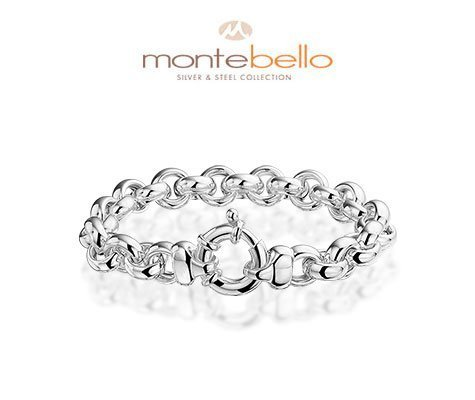 Montebello Armband Diselma - Dames - 316L Staal - Rond - ∅9 mm - 21 cm-5192