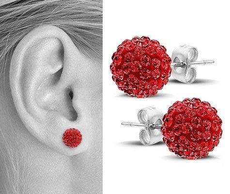 Lantana, edelstalen oorbellen - Montebello juwelen-0