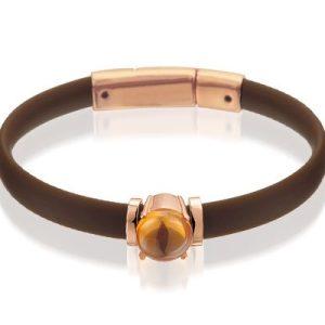 Montebello Armband Muilla - Dames - Zilver Verguld - Zirkonia - 8mm - 19cm-0