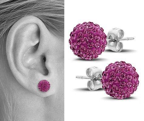 Opuntia, edelstalen oorbellen - Montebello juwelen-7042