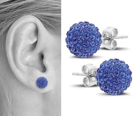 Oropetium, edelstalen oorbellen - Montebello juwelen-0