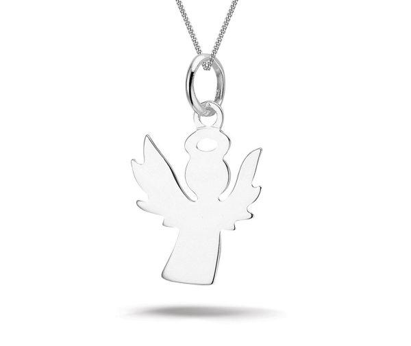 Angel S, zilveren ketting - Montebello juwelen-0