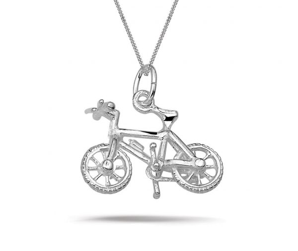 Montebello Ketting Mountainbike - Heren - 925 Zilver - Fiets - 19x18mm - 50cm-0