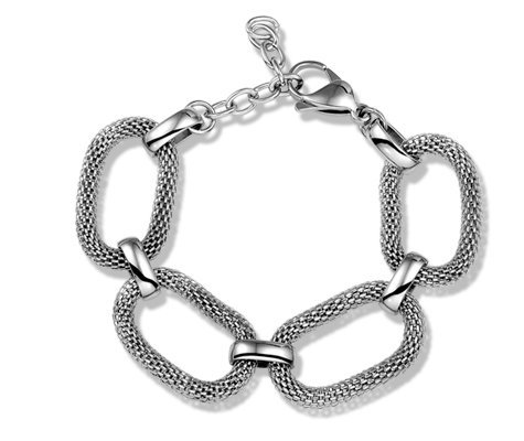 Montebello Armband Oxyrhachis - Dames - Staal - 16-20cm-0