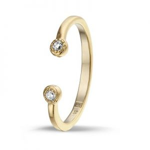 Montebello Ring Perok - Dames - 925 Zilver - Zirkonia-0