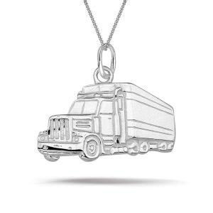 Montebello Ketting Truck - Heren - 925 Zilver - 20x18mm - 50cm-0