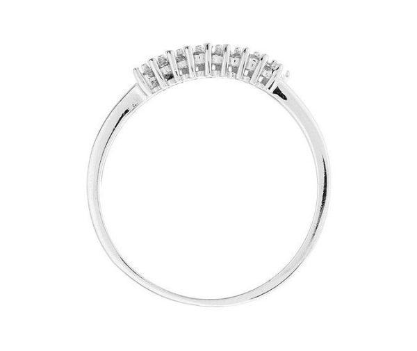 Montebello Ring Pachira - Zilver Gerhodineerd - Zirkonia -7060