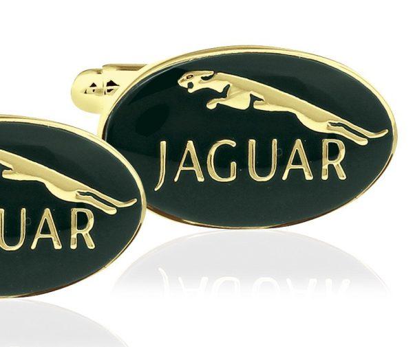 Montebello Manchetknopen Jaguar G - Heren - Metaal - Ovaal - 20x13mm-0