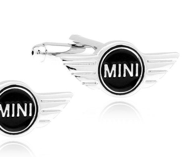 Montebello Manchetknopen Mini Cooper - Heren - Metaal - 24 x 9 mm-0