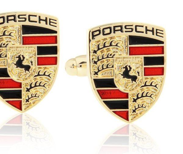 Montebello Manchetknopen Porsche G - Heren - Metaal - 15x18mm-0