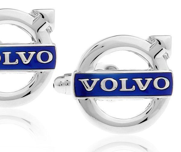 Montebello Manchetknopen Volvo - Heren - Metaal - Keramiek - ∅18 mm-0