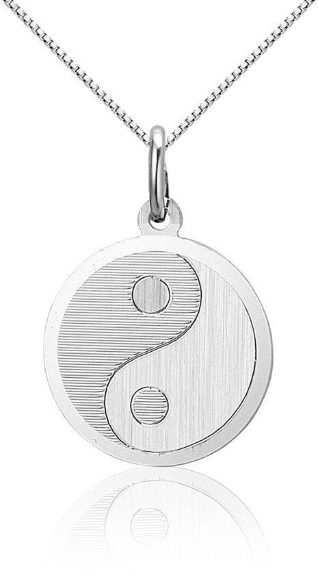 Montebello Ketting Yin - 925 Zilver - Rond - ∅17mm - 45cm-0