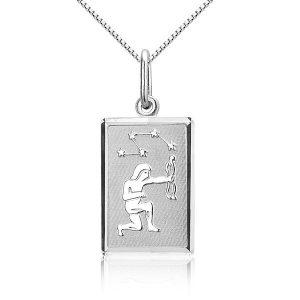 Montebello Ketting Boogschutter - Dames - Zilver gerhodineerd - 45 cm-0