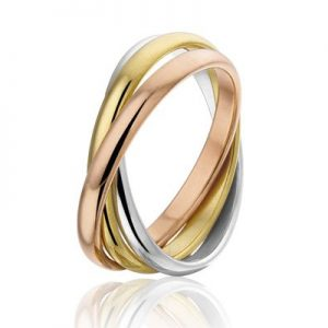 Sertifera, edelstalen ring - Montebello juwelen-0