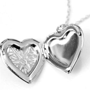 Briolla, zilveren hanger met ketting - Montebello juwelen-20654