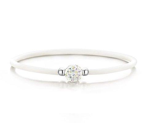 Montebello Armband Orbea - Dames - Rubber - 925 Zilver - Zirkonia-0