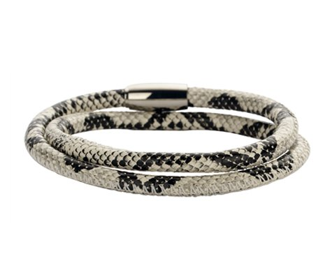 Montebello Armband Phylica - Dames - 316L Staal - Leer - 41 cm -0