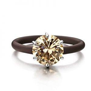Montebello Ring Sinapis - Dames - Zilver - Zirkonia - ∅10 mm - One Size-0