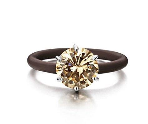 Montebello Ring Sinapis - Dames - Zilver - Zirkonia - ∅10 mm - One Size-0