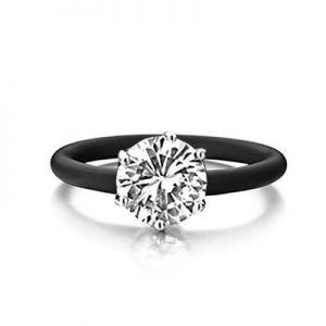 Montebello Ring Simplicia - Dames - Zilver - Zirkonia - ∅10 mm - One Size-0