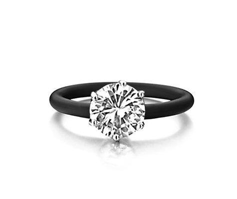 Montebello Ring Simplicia - Dames - Zilver - Zirkonia - ∅10 mm - One Size-0