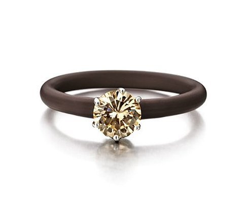 Montebello Ring Soldanela - Dames - Zilver - Zirkonia - ∅8 mm - One Size-0