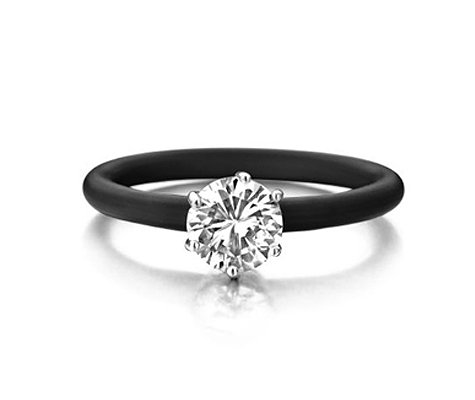 Montebello Ring Sohnsia - Dames - Zilver - Zirkonia - ∅8 mm - One Size-0