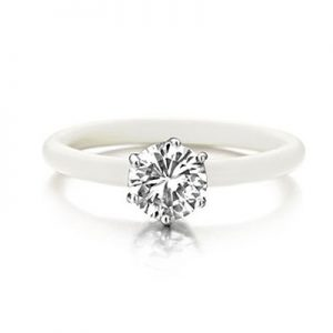 Montebello Ring Solanum - Dames - Zilver - Zirkonia - ∅8 mm - One Size-0