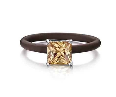Montebello Ring Sobralia - Dames - Zilver - Zirkonia - ∅8 mm - One Size-0