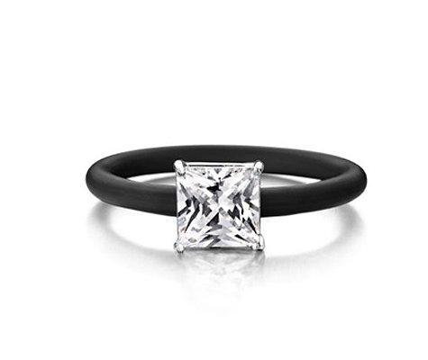 Montebello Ring Skimmia - Dames - Zilver - Zirkonia - ∅8 mm - One Size-0