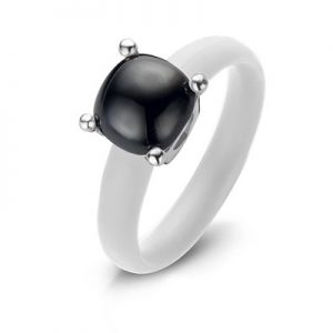 Montebello Ring Solidago - Dames - Zilver - Zirkonia - ∅10 mm - One Size-0