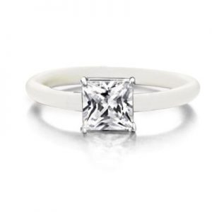 Montebello Ring Smyrnium - Dames - Zilver - Zirkonia - ∅8 mm - One Size-0