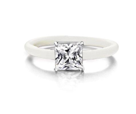 Montebello Ring Smyrnium - Dames - Zilver - Zirkonia - ∅8 mm - One Size-0