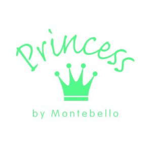 Princess Ketting Axis Blue - Meisjes - 925 Zilver - Epoxy - Cupcake - ∅9 mm - 38 cm -8286